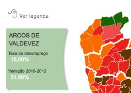 Parte da infografia do Jornal de Negócios