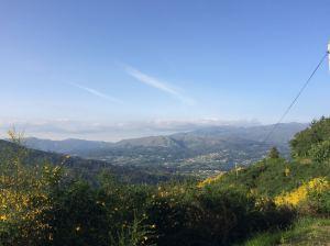 Serra de Soajo vista do Castelo