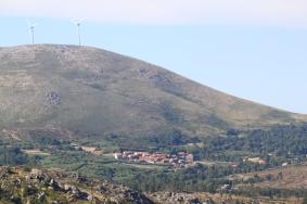 Vista para Lamas de Mouro